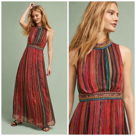 172330b2f NWT🌸Anthropologie Artista Maxi Dress by Bl-nk